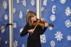 Koncert noworoczny w Świetlicy w Łubcu